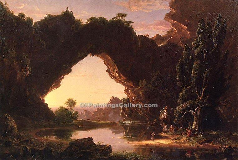 """Evening in Arcady"" by  Thomas Cole"