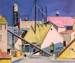 Factories by  Preston Dickinson (Painting ID: AB-0382-KA)