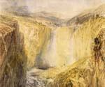 Fall of the Tees Yorkshire by  William Turner (Painting ID: LA-6204-KA)