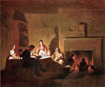 Family Life on the Frontier by  George Caleb Bingham (Painting ID: ED-0563-KA)