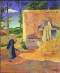 Farmhouse at Le Pouldu by  Paul Serusier (Painting ID: EI-0514-KA)