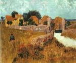 Farmhouse in Provence 32 by  Vincent Van Gogh (Painting ID: VG-0132-KA)