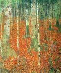 Farmhouse with Birch Trees 16 by  Gustav Klimt (Painting ID: KL-1016-KA)