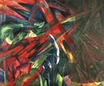 Fate of the Animals by  Franz Marc (Painting ID: AB-0185-KA)