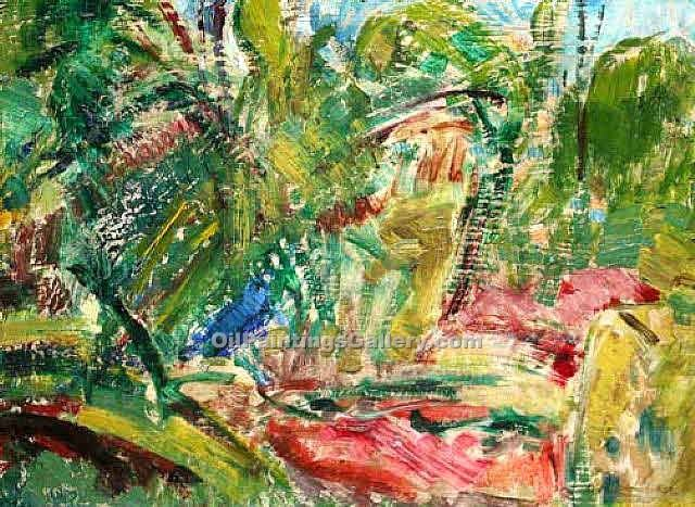 Fauve Landscape 97 by Alfred Henry Maurer | Paintings For Sale Online - Oil Paintings Gallery