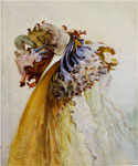 Femme Profil by  Georges Jules Victor Clairin (Painting ID: ED-0752-KA)