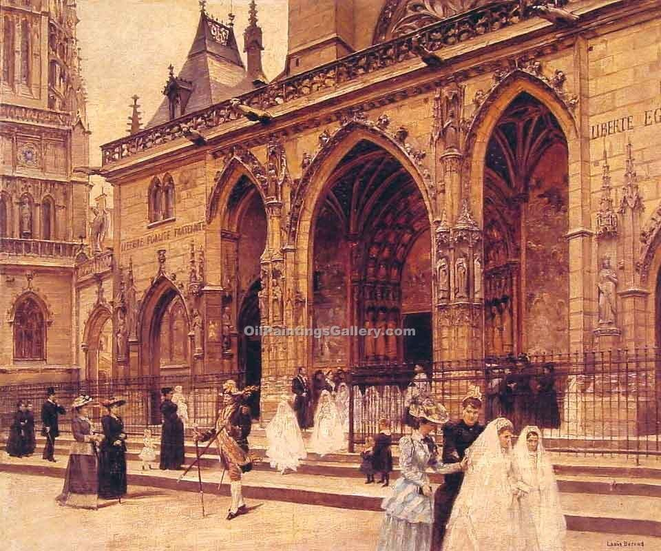 """First Communion Paris"" by  Jean Beraud"