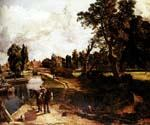 Flatford Mill by  John Constable (Painting ID: LA-2916-KA)