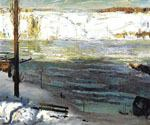 Floating Ice by  George Bellows (Painting ID: GE-2220-KA)