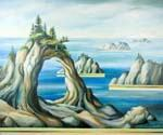Floating Islands by  Dan Livni (Painting ID: AD-0336-KA)