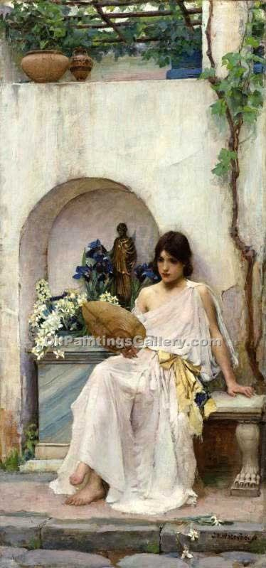 """Flora 02"" by  John William Waterhouse"