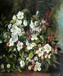 Flowering Apple Tree Branch by  Gustave Courbet (Painting ID: SL-0070-KA)
