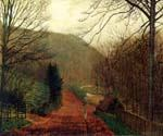 Forge Valley, Scarborough by  John Atkinson Grimshaw (Painting ID: LA-0260-KA)