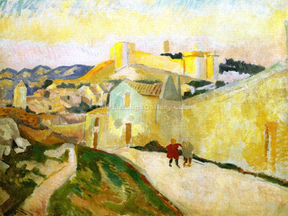 """Fort Saint Andre"" by  Roger Eliot Fry"