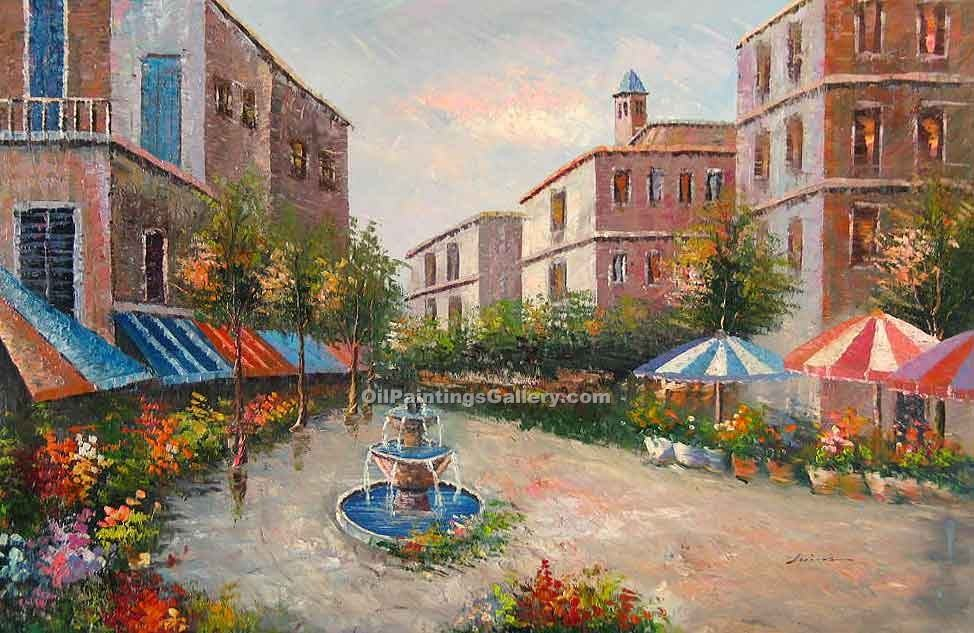 """Fountain in the Piazza"""