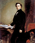 Franklin Pierce, 14th President, Painted by George Peter Alexander Healy  (Painting ID: CM-0014-KA)
