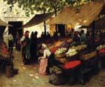 Fruit Market by  Terrick Williams (Painting ID: CL-4964-KA)