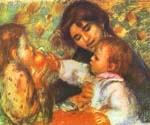 Gabrielle with Renoir by  Pierre Auguste Renoir (Painting ID: CL-4557-KA)
