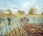 Gelee Blanche by  Camille Pissarro (Painting ID: LA-0920-KA)