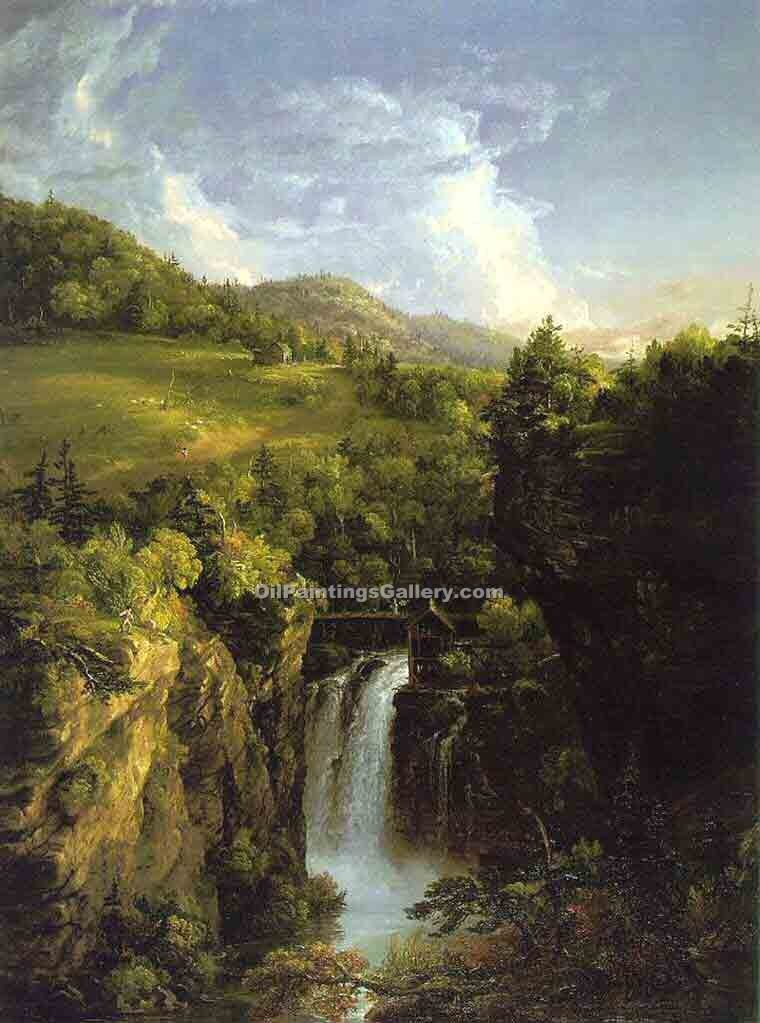 """Genesee Scenery"" by  Thomas Cole"
