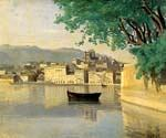 Geneva View of Part of the City by  Jean Baptiste Corot (Painting ID: CO-0904-KA)