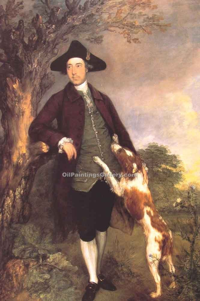 """George Lord Vernon"" by  Thomas Gainsborough"