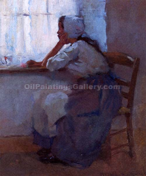 """Girl at the Window"" by  Robert Reid"