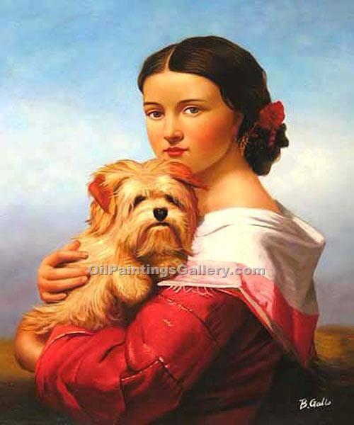 """Girl with Terrier"""