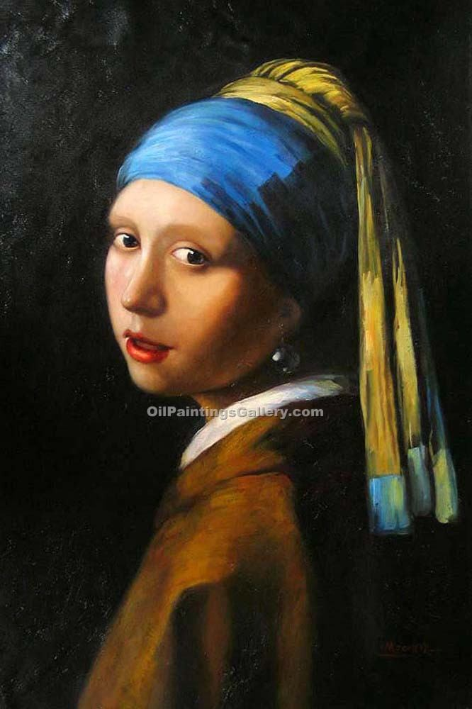 """Girl with a Pearl Earring"" by  Jan Vermeer"