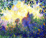 Giverny Church at Sunset by Theodore Earl Butler (Painting ID: LA-0662-KA)