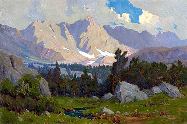 """Glacier Meadows"" by  Elmer Wachtel"