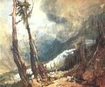 Glacier and Source by  William Turner (Painting ID: LA-6216-KA)