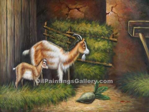 """Goat and Kid 07"""
