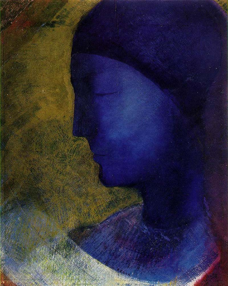 """Golden Cell"" by  Odilon Redon"