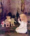 Goldilocks by  Jessie Willcox Smith (Painting ID: CL-1908-KA)