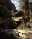 Gorge at Amalfi by  Karl Blechen (Painting ID: LA-2894-KA)