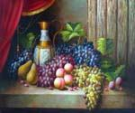Grapes and Pears   (Painting ID: SL-2112-KA)