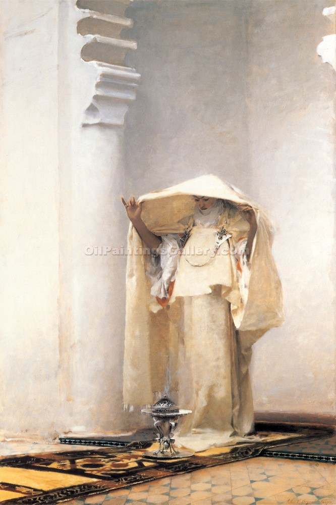 """Gray Smoke of Ambris"" by  John Singer Sargent"