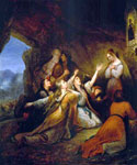 Greek Women Imploring for Assistance by  Ary Scheffer (Painting ID: CL-0216-KA)