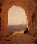 Grotto in the Gulf of Naples by  Karl Blechen (Painting ID: LA-2888-KA)