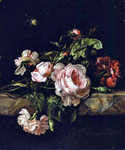 Group of Flowers by  Willem van Aelst (Painting ID: SL-0248-KA)
