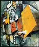 Guard by  Kasimir Malevich (Painting ID: AB-0610-KA)