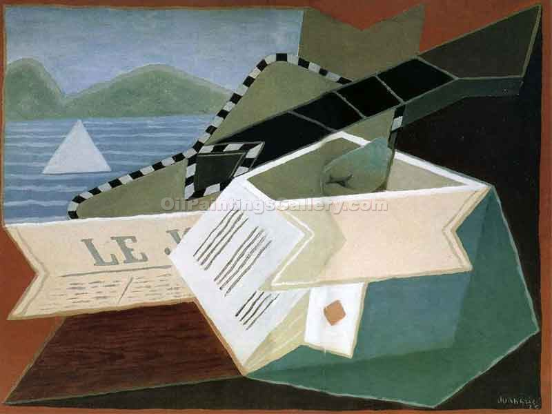 """Guitar in front of the Sea"" by  Juan Gris"
