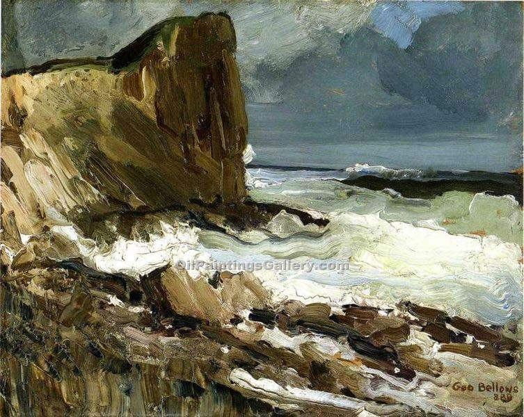 """Gull Rock and Whitehead"" by  George Bellows"