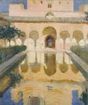 Hall of the Ambassadors, Alhambra, Granada by  Bastida Joaquin Sorolla (Painting ID: CL-0768-KA)
