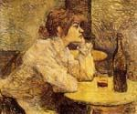 Hangover by  Henri Toulouse Lautrec (Painting ID: ED-1104-KA)