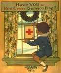 Have You a Red Cross Service Flag by  Jessie Willcox Smith (Painting ID: CL-1910-KA)