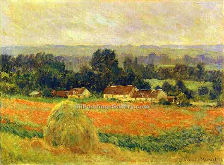 """Haystack at Giverny"" by  Claude Monet"