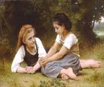 Hazelnuts by  Adolphe Bouguereau (Painting ID: CL-3425-KA)