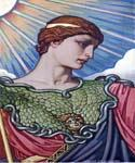 Head of Minerva by  Elihu Vedder (Painting ID: CL-0800-KA)